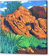 The Flicker Trail Canvas Print