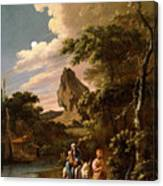 The Flight Into Egypt Canvas Print