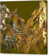 The Flight Of The Bird Canvas Print