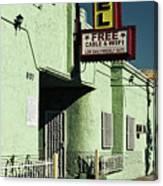 The Flores Motel Canvas Print