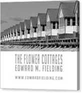 The Flower Cottages By Edward M. Fielding Canvas Print