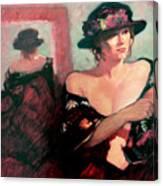 The Flower Hat Canvas Print