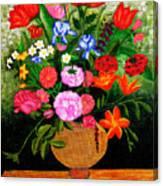 The Flower Pot Canvas Print