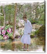 The Flowering Brook Canvas Print