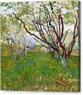 The Flowering Orchard Canvas Print