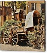 The Flowering Wagon Canvas Print