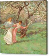 The Flowers Of May Canvas Print