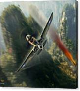 The Flying Tigers Canvas Print