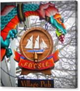 The Fo'c'sle Village Pub Canvas Print