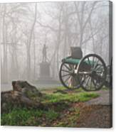 The Fog Of War. Canvas Print