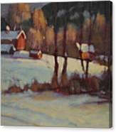 The Foisey Farm Canvas Print