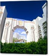The Fontainebleau Hotel Canvas Print