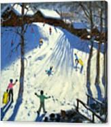The Footbridge Canvas Print