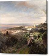 The Footpath From Ariccia To Albano Canvas Print
