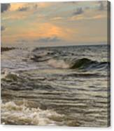 The Force Of The Sea Canvas Print