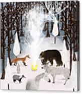 The Forest Guardians Canvas Print