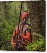 The Forest Has Eyes Bushy Run Canvas Print