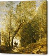 The Forest Of Coubron Canvas Print