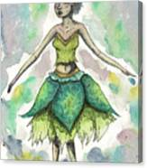 The Forest Sprite Canvas Print