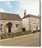 The Forge And Blacksmith's Cottage Mylor Bridge Canvas Print