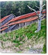 The Forgotten Barn Canvas Print