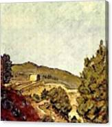 The Fort In Lorca Canvas Print