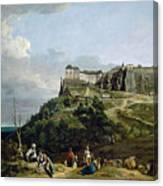 The Fortress Of Konigstein Canvas Print