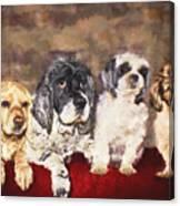 The Four Amigos Canvas Print