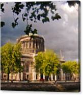 The Four Courts In Reconstruction Canvas Print