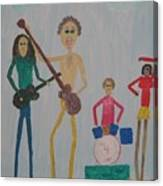 The Four Dogs Band Canvas Print