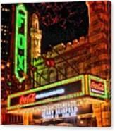 The Fox Theater Atlanta Ga. Canvas Print
