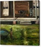 The Front Porch Canvas Print