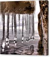 The Frozen Veil Canvas Print