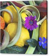 The Fruits Of Summer Canvas Print