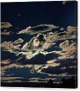 The Full Buck Moon Canvas Print