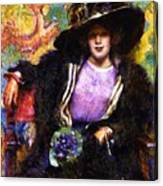 The Furs 1911 Canvas Print
