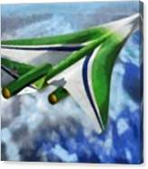 The Future Of Air Transportation Canvas Print
