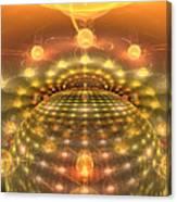 The Galactic Mirror Ball Canvas Print