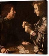 The Gamblers Canvas Print