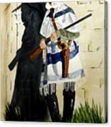 The Garde Canvas Print