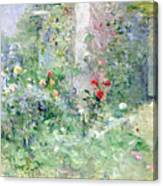 The Garden At Bougival Canvas Print