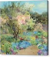 The Garden At Kilmurry Canvas Print