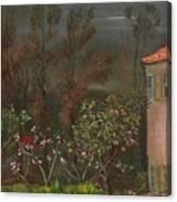 The Garden Boris Grigoriev Canvas Print