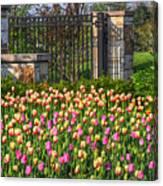 The Garden Enterance Canvas Print