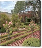 The Garden House Canvas Print