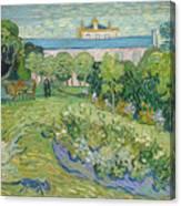 The Garden Of Daubigny Canvas Print