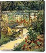 The Garden Of Manet Canvas Print