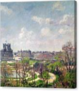 The Garden Of The Tuileries Canvas Print