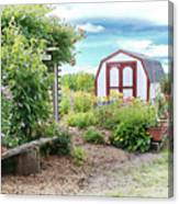 The Garden Shed Canvas Print