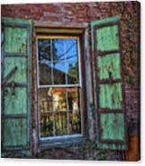 The Garden Window Canvas Print
